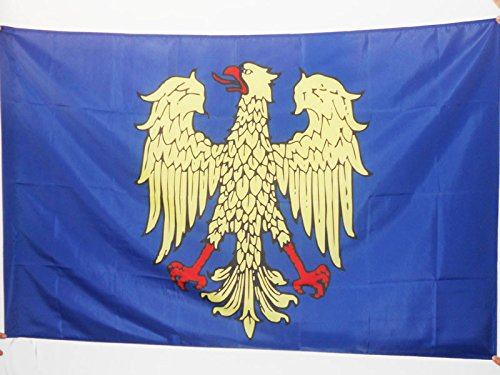 AZ FLAG Bandiera Friuli-Venezia Giulia 90x60cm - Bandiera FRIULANA - REGIONE Italia 60 x 90 cm Foro per Asta