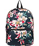 Roxy Always Core Mini Backpack, Mochila Mujer, Antracita Wonder Garden S, Talla única