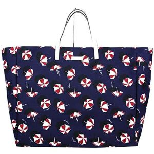 Gucci Canvas Blue Parasol Print Large Tote Handbag 286198 4160 10