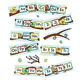 Carson-Dellosa Boho Birds Alphabet Bulletin Board Set