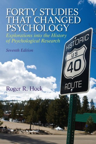 Forty Studies that Changed Psychology (7th Edition) by Roger...