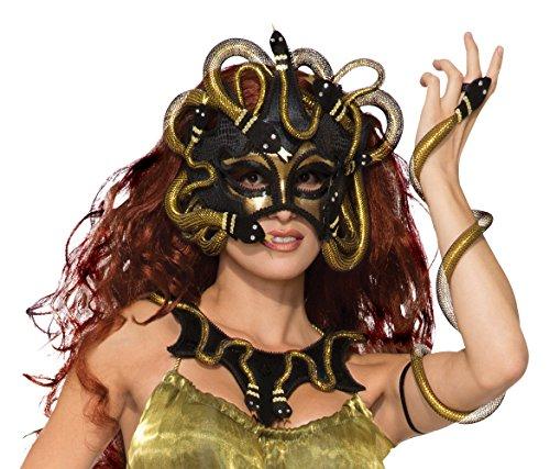 Bristol Novelty 78916 Medusa Mask, One Size (Apparel)