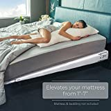 Avana Mattress Elevator - Under Bed 7-Inch Incline Foam Support, Queen