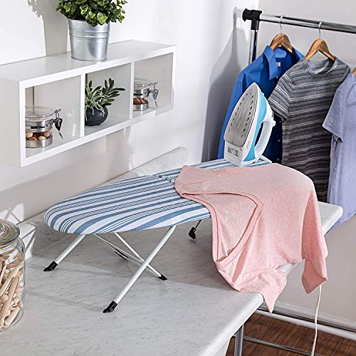 Honey-Can-Do Foldable Tabletop Ironing Board with...