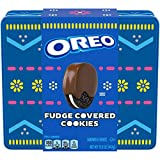 OREO Fudge Covered Chocolate Sandwich Cookies, Easter Cookies Gift Tin, 15.8 oz