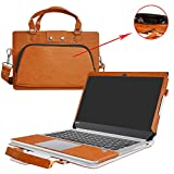 Yoga 920 Case,2 in 1 Accurately Designed Protective PU Leather Cover + Portable Carrying Bag for 13.9' Lenovo Yoga 920 920-13IKB Series Laptop(Not fit Yoga 910/900/720/710/700 Series),Brown