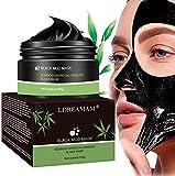 Maschera Punti Neri,Maschera Nera,Maschera Viso Punti Neri,Maschera Purificante peel-off Mask con carbone attivo per una profonda pulizia dei pori di crema...