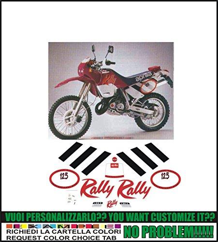 Kit adesivi decal stickers aprilia tuareg 125 rally 1991 (possibilità di personalizzare i colori)