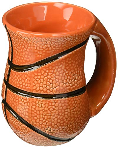 DEI 30136 Ceramic Mug, 4.5 x 4.5 x 5.0, Orange