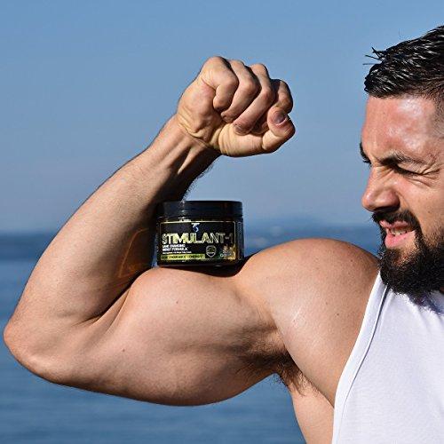 T6 Stimulant-1 Pre Workout Powder – World's Strongest Energy Drink Mix, Nootropic Fat Burner & Focus Supplement for Men & Women w/Taurine & Teacrine, 25sv 8