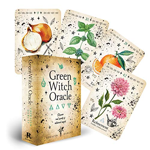 Green Witch Oracle Cards: Discover real secrets of natural...