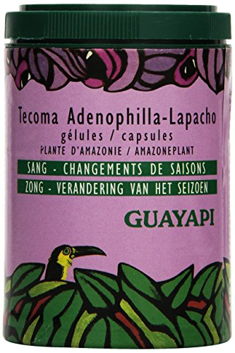 Guayapi Tecoma Adenophylla - Lapacho, Premium Qualität, 80 Kapseln À 350 mg, 1er Pack (1 x 25 g)