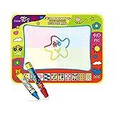 Doodle Mat,Tapis magique de griffonnage de l'eau avec des nuances de couleur...