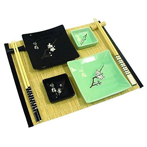 Kit de comida japonesa para 2 pessoas flores