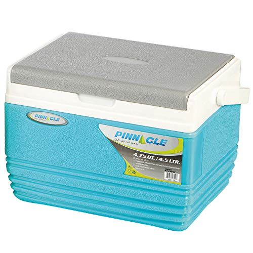 Pinnacle Ice Cooler Box (Keeps Cold Upto 48 Hours) (Eskimo 4.5L Blue)