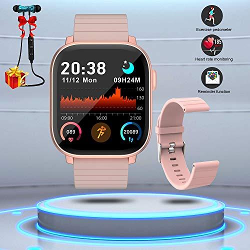 Montre Connectée Femmes Homme Smartwatch Etanche Bracelet Connecté Cardio...