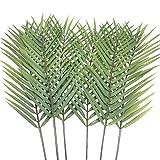 Aisamco Lot de 6 Feuilles de Palmier artificielles en Forme de Feuilles de...