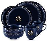 SULIVES Service de Vaisselle en céramique, Bols, Tasses,...