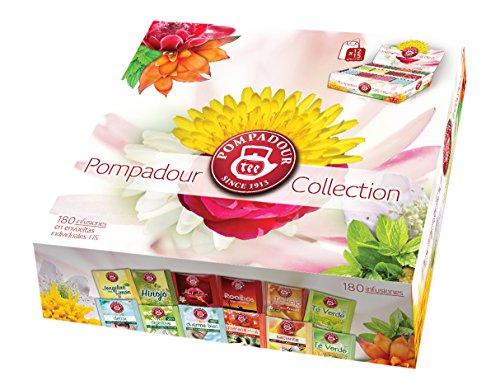 Pompadour Collection Té, 180 Bolsas