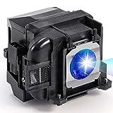 AuKing Lámpara de Proyector para Epson ELPLP88 EB-U04 EB-S04 EB-S27 EB-U32 EH-TW5300 EH-TW5350 EH-TW5210 EX3240EX5240EX5250EX7240 EX9200 PowerLite 1040 2040 2045 740HD640 VS240 VS340 VS345