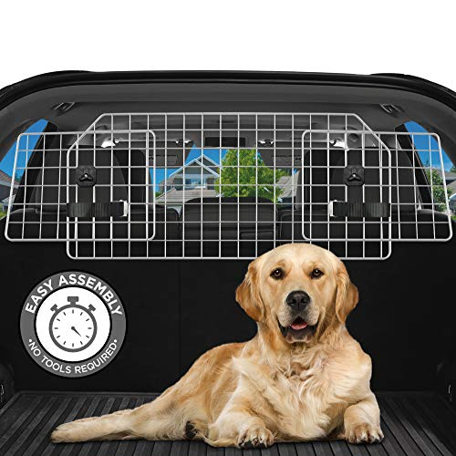 Dog Barrier for SUV's, Cars & Vehicles, Heavy-Duty...