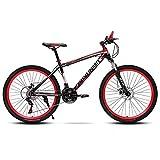 26en Acier De Carbone Vélo De Montagne Homme,Vitesses Bicyclette...