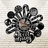 guazhong Horloge Murale en Vinyle 1 Pièce Vintage Féroce Samouraï...