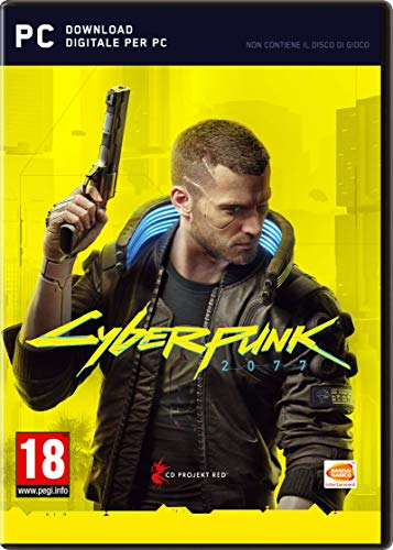 CYBERPUNK 2077 D1 Edition PC Importación italiana