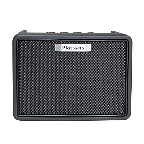 BLKykll Mini Guitar Amplifier, Electric Guitar Amp Speaker,Black 5W,Portable Size for Outdoor Performance, Band Show, Personal Practice