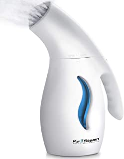PurSteam Garment Steamer For Clothes, Powerful 7-1 Fabric Steamer For Home/Travel. Remove..