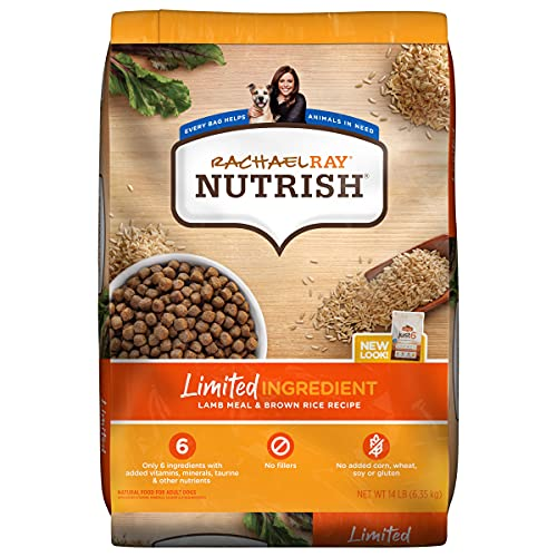 Rachael Ray Nutrish Limited Ingredient Lamb Meal &...