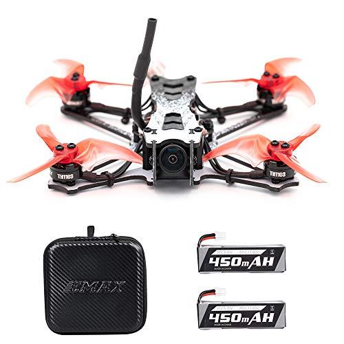Goolsky EMAX Tinyhawk II Racing Drone FPV Drone 120km / h F4 5A ESC Brushless Motor 7000KV RunCam Nano2 700TVL 37CH 25/100 / 200mW VTX FPV Quadcopter BNF