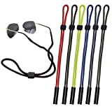 CandyHome 6 Pcs Sunglass Straps, Glasses Holder Sunglasses Strap, Excellent Chums Glasses Strap for Men and Women