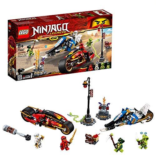 LEGO Ninjago - Moto-lama di Kai e Moto-neve di Zane, 70667