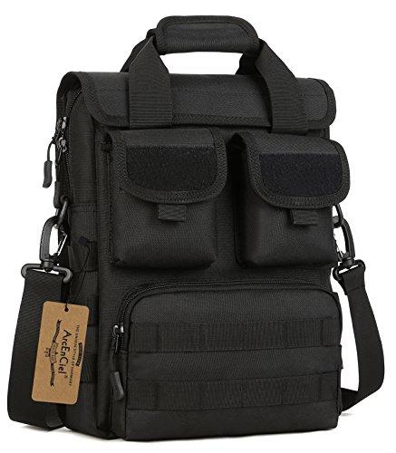 ArcEnCiel Tactical Messenger Bag Men Military MOLLE Sling...