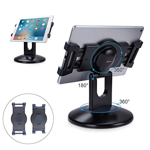 AboveTEK Retail Kiosk iPad Stand, 360° Rotating Commercial...