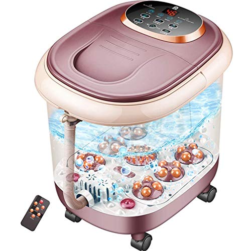 Foot Spa Bath Massager with Heat – Comfortology Leak-Proof Foot Spa Massager Relaxes and Invigorates Tired and Achy Feet