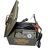 Air Armor M240 12 Volt, Military Inspired Portable 12v Air Compressor Care and Repair Kit Packed in A Sturdy Ammo Can. Perfect for Jeep, 4 x 4, Off Road Tires