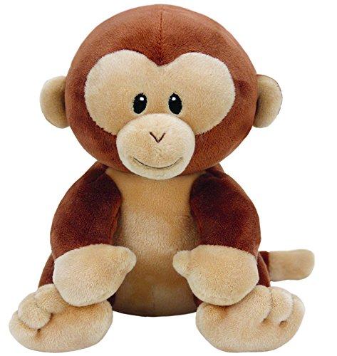 Ty 32154Baby Peluche Banana Scimmia, 17cm
