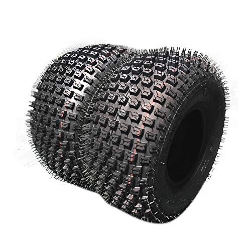 Set of 2 All-Terrain ATV UTV 2PR Tires - 20x7-8 Sports Bias Tires 20-7-8