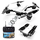 Drones GPS con Camara 2K Profesional, 5GHz WiFi FPV Quadcopter con Cámara HD, Modo sígueme, 120º...