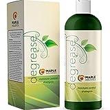 Maple Holistics Le meilleur shampooing pour cheveux gras - Scalp botanique Perte Itchy cheveux traitement pour les hommes et les femmes - dégraissant cheveux Produit Sulfate - Clarifying Shampoo Pour Colorés Beauty Hair & Natural Hair Care 16Oz