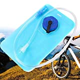 Haluoo Water Bladder Bag, 1L 1Liter BPA Free Hydration Pack Bladder Leakproof Water Reservoir for Outdoor Cycling Bicycling Hiking Camping Backpack (Blue)