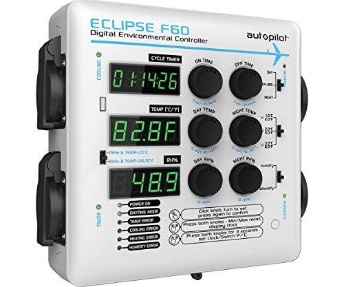 AutoPilot APE4100 Eclipse F60 Digital Environmental Controller, White