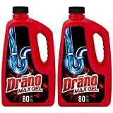 Drano Max Gel Drain Clog Remover and Cleaner for Shower or Sink Drains,...