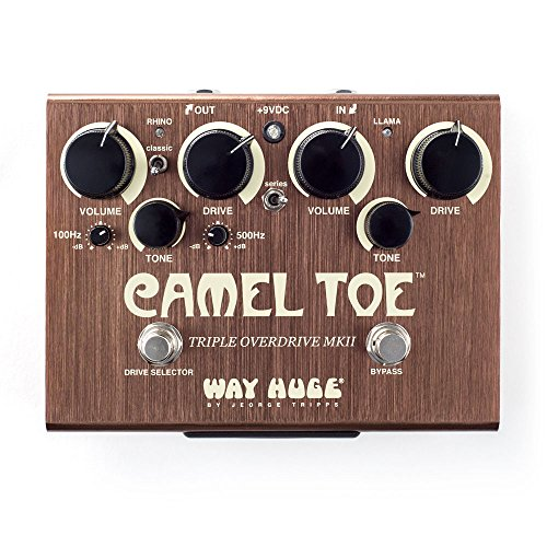Way Huge WHE209 Camel Toe Guitar Triple Overdrive MKII