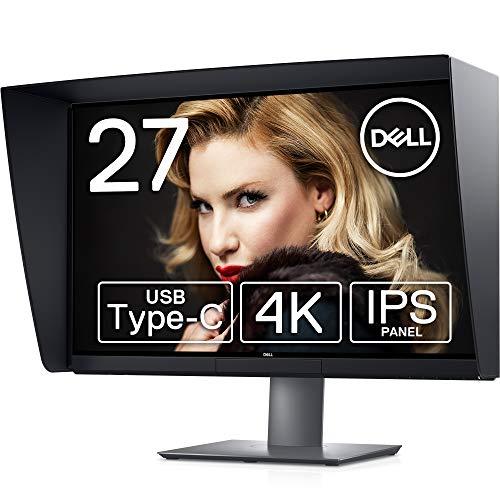 Dell 4K カラーマネジメントモニター 27インチ UP2720Q(3年間無輝点交換保証付/AdobeRGB 100%/IPS/内蔵キャリブレーション/フード付/Thunderbolt,DP,HDMIx2)