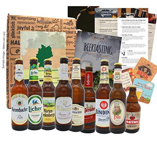 Coffret cadeau de voyage de bière en Allemagne comme idée cadeau avec 9 x...