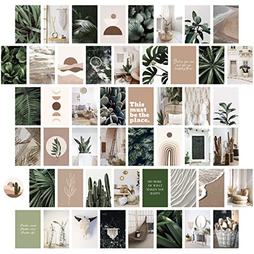 Heather & Willow Photo Collage Kit for Wall Aesthetic Pictures 50...