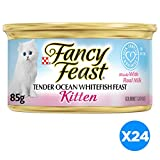 Purina Fancy Feast Wet Kitten Food, 24 Pack 3 oz. Cans